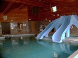 double slide pool